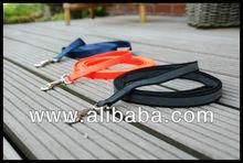 ABS rubberized dog training leash