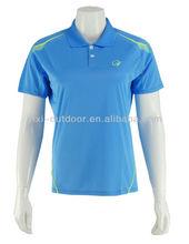 venta al por mayor unisex bordada logotipo personalizado polo camisas de golf