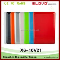 Multi colors 10.1 inch VIA WM8880 dual core 1GB 8GB touchscreen Netbook Mini android laptop