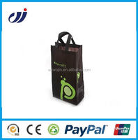 One color low price non woven bags with print