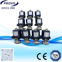 electric operated water valve flow control adjustable