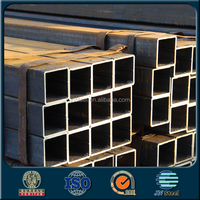 black iron pipe steel tube/Steel square Pipe /steel section/hollow section