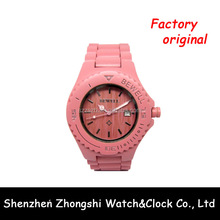 Wholesale Wooden Material Teenage Fashion Watches For Girls