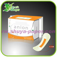 Green Strip Love Moon Anion Panty Liner Manufacturer (Ultra Thin, Breathable)