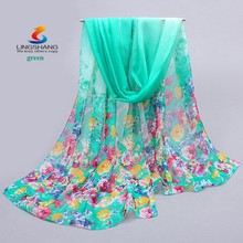 Popular Colorful 2015 Women's Scarves Chiffon Infinity Stylish Scarf Girl's Pashmina Shawl Wrap Lady's Long Cheap Neckerchief