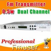 18FSN Dual Channel fm transmitter 0.5w radio station jingles