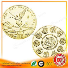 Finely processed 2012 silver coin