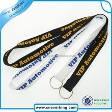 2015 Best selling cheap polyester customer lanyards for promotion