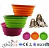 Travel Collapsible Dog Bowl Bright Colors Travel Dog Bowl