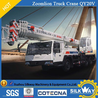 Zoomlion brand 25 ton truck crane with best price and good quality