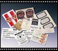 80 g semi gloss auto-adesivo de papel para a medicina etiqueta