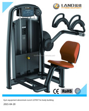 High quality fitness equipment abnominal crunch for body building