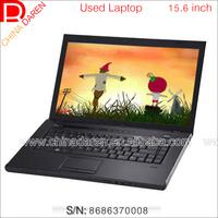 Win7 Big Screen 15.6 inch i5 520M 2.4GHz 2G DDR3 250G used laptop black with Webcam DVD RW