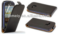 Real Genguine Leather cheap flip case mobile phone case for Samsung Galaxy S3 Mini i8190