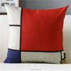 waterproof fabric cotton filling garden furniture cushion/ bedroom decorative cushion wholesale