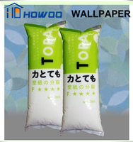 Howoo high viscosity wallpaper adhesive glue rubber powder
