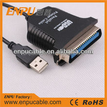 USB 2.0 to DB25 Male Parallel IEEE 1284 Printer Adapter Cable PC