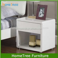 Modern design night stand in white color/wood nightstand