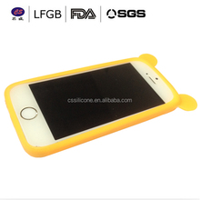 Innovative good quality fashion silicone gel cell phone case / silicone gel rubber case cover soft silicone gel case