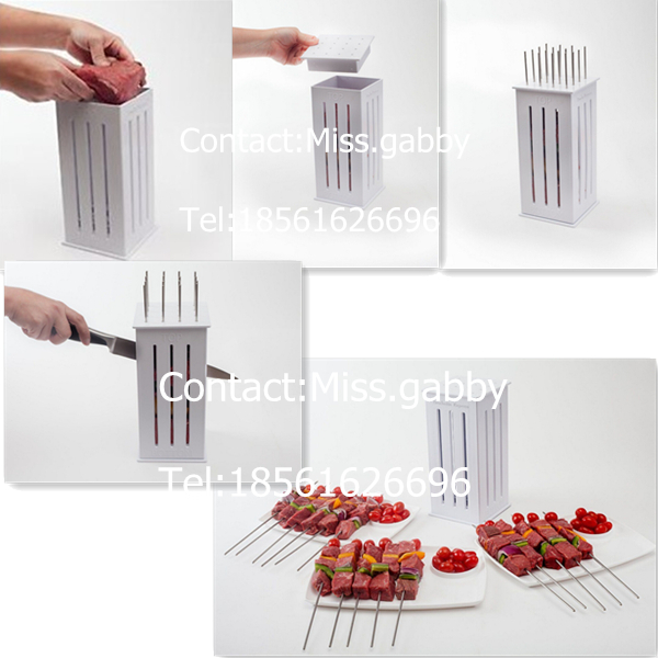 Kabob Meat Cutter Meat Cutter For Barbecue