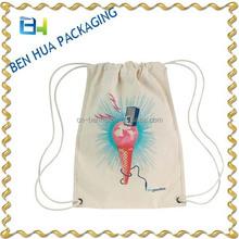 Wholesale Custom Simple Design Canvas Backpack