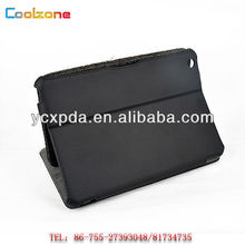 Heat setting book leather case for ipad mini,ipad mini leather case
