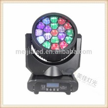 19pcsx12w rgbw 4in1 Bee eye stage light mixer
