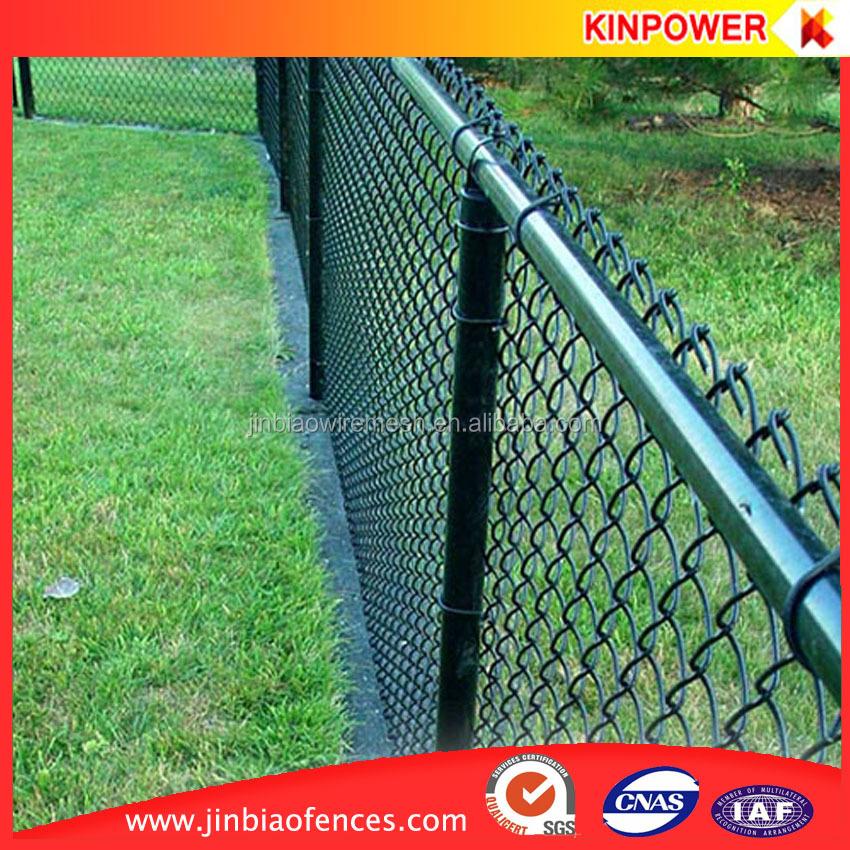 Black chain link fence plastic buy