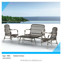 New design Pe rattan garden furniture, costco outdoor patio furniture Sofa Set H315