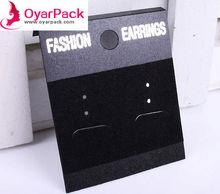custom printed earring display cards