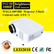 Full hd mini projector home cinema projector portable led video projector