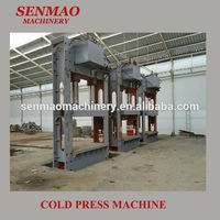 500T hydraulic cold press/ plywood cold press machine