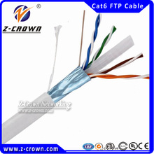 Factory Price 23AWG FTP Cat6 Twisted Cable Network Cabling Service