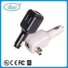 new arrivals for 2015 factory direct micro dual usb 5v 2.1A usb car charger