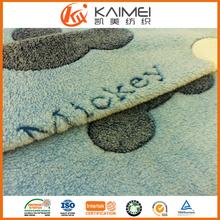 super soft fabric and grey short pile fleece fabric fleece blanket