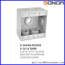 New Waterproof aluminum junction box