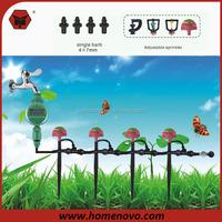 Full Angle Irrigation Sprinkler 4x12mm 9x7mm Hose Vegetable Garden Irrigation System