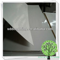 2.5mm white glossy poly phenolic resin faced plywood,decorative wood overlays