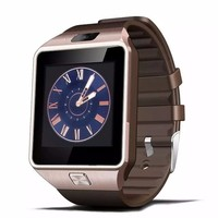 2015 DZ09 GV08 Smart Watch For Apple/For Samsung s4/s5/Android/ IOS Phone Bluetooth Wearable Watch Sheet music QQ online