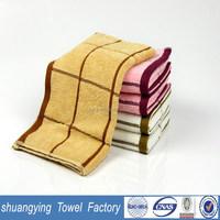 33*74cm customized jacquard cotton hand towel fabric