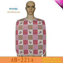Protective washable polyester vinyl feeding apron