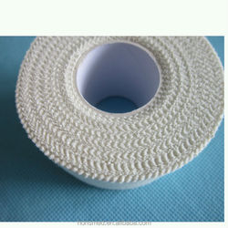 Zinc oxide tape adhesive sport tape with serrated edge 5cm*5m white