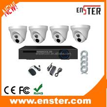 Top 10 CCTV 4ch 960P NVR Kit H.264 NVR Kit with 4PCS 1MP IP camera, NVR kits