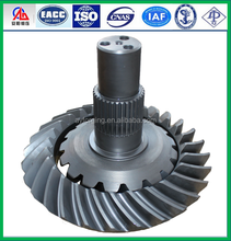 High quality Customize Forged Helical bevel gear for STEYR