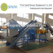 Used Tire Shredder for recycling Chinese Manufacturer and Japanese Technology