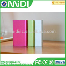 world fashion Cheapest price best gifts 8800mah slim power bank