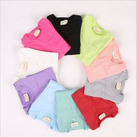 DB020 alibaba website wholesale kids clothes 100% cotton colorful boy long sleeve t-shirt