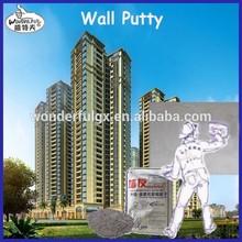polvo pre-mezclado para enyesar paredes