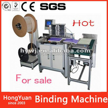 2015 China Supplier New Style Printing wire binding, double wire book binding machine