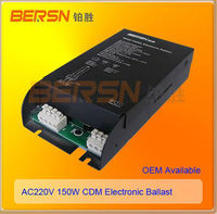 150W Metal Halide Electronic Ballast with CE,RoHs,CQC,CCC for HID lamps